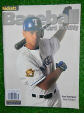 ALEX RODRIGUEZ,  Beckett Baseball Card Monthly,  Mar 2001 NO LABELS,  FREE SHIP