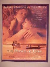 """The Prince of Tides"" Movie Release PRINT AD - 1991 ~~ Barbra Streisand"