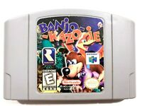 AUTHENTIC! Banjo Kazooie Nintendo 64 N64 Game - Tested - Working - Original