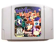 AUTHENTIC! Banjo Kazooie Nintendo 64 N64 Game - Tested - Working - Original