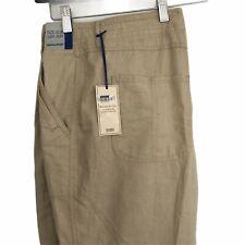 Da Uomo Grigio 100/% Cotone Casual Pull On Pantaloni Da Marks and Spencer girovita 30-32