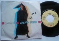 "Sarah / Tokyo Town 7"" Single Vinyl 1986"