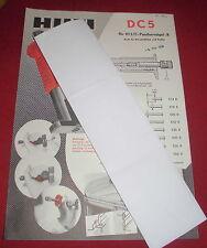 ALT folleto hoja Hilti dc panthernägel R herramienta manual 1958 publicitarias publicidad
