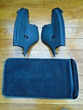 RARE BMW Z4 E85 soft top side covers black excellent condition with storage case