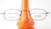 Brille Gestell Fassung leicht 8g kleine Gläser aubergine Metall unauffällig Gr S