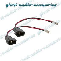 Pair of Speaker Connector Adaptor Lead Cable Plug for Suzuki