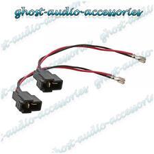 Par De Conectores Cable Adaptador Cable de altavoz Enchufe Para Suzuki
