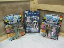 Playmates Star War Action Figures Capt. Picard in Spacesuit, Lt. Barclay &  DATA
