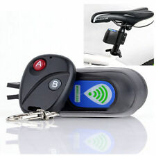 Wireless Remote Control Cycling Security Anti - theft Alarm Lock Light New Bike