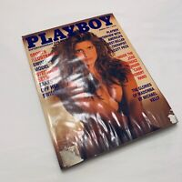 Playboy Magazine 1991 March Stephanie Seymour, Julie Clarke, and M. Scott Peck