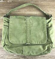 Christy Studio Handmade Bags Handbag Purse Green Canvas