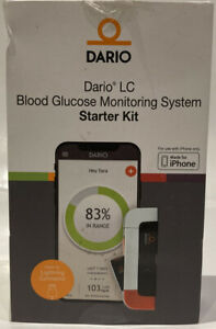 Dario LC Blood Glucose Monitoring System Starter Kit Made For All  iPhones