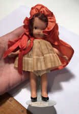 Vintage Small Nancy Lee? Storybook Doll - Little Red Riding Hood