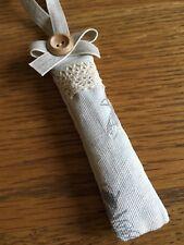 Handmade bee lavender sachet