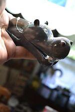 EXOTIC ENVIRONMENT ACTION BUBBLERS HIPPO HEAD MOUTH OPEN & CLOSE AQUARIUM DECOR