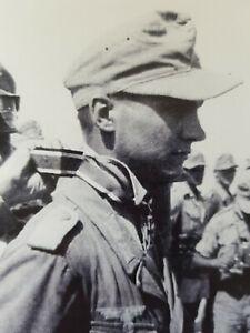 Günter Halm original Autogramm 2. WK Wehrmacht RK-Träger mit Rommel 02.12.09 RKT