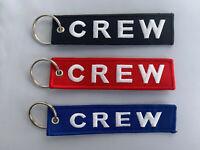 Crew Schlüsselanhänger Keyring NEU verschiedene Farben