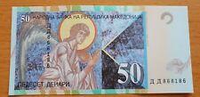 MACEDONIA 50 Denari 2007 P15e UNC Banknote