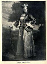 Komtesse Wilhelmine Kinsky ( Phot. d'Ora ) Historische Aufnahme von 1912