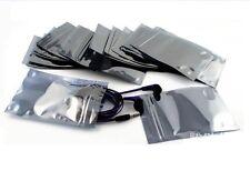 50PCS 50x90mm 40x70mm ESD Anti-Static Shielding ZIP LOCK Bags NEW