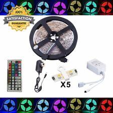 Led Strip Fairy Light Kit 5050 5M 150 Leds RGB + 44 Key Remote Controller