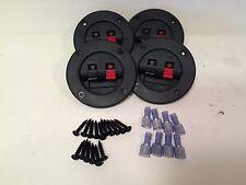 "4-3"" Subwoofer Speaker Box Terminal Cups & 8-14/16ga Connectors & 16-Screws"