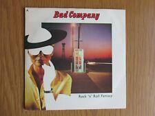 "BAD COMPANY Rock N Roll Fantasy 1979 UK 7"" VINYL SINGLE IN PICTURE SLEEVE"