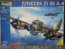 Maquette Avion REVELL 1/48 Ref 04531 Junkers JU 88 A-4