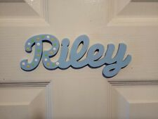 Wooden Name Plaque Personalised for you / Door Sign / Bedroom Name Susa #143