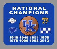 Item#393 Kentucky Wildcats Basketball Championship Banner Mouse Pad