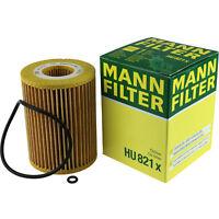 Original MANN-FILTER Ölfilter Oelfilter HU 821 x Oil Filter