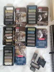 Derwent Xl charcoal And Graphite Sticks