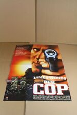 Der Cop mit James Woods - altes Kinoplakat aus den 1980er Jahren    /S145