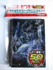 100 Yugioh Small Size Card Sleeves Deck Protector - Blue Eyes vs. Dark Magician