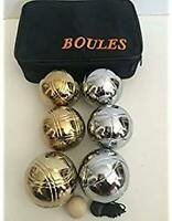 Pack of 5 Balls 30mm Wood Jacks for Petanque//Bocce//Boules
