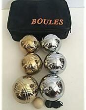 Bouleset R1 Petanqueset Boulekugeln OBUT MATCH Black 72 Petanque 690 Boule