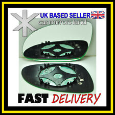 Left Passenger Side Wing Mirror Glass HEATED  VW Golf 5 MK5 2003-2008