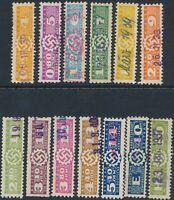 Stamp Germany Revenue WWII Fascism War Era War DAF C Selection Used