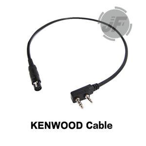 FCS Tactical Headset Comtac III RAC Radio Connector V20 PTT KN6 U174/U MTP3150