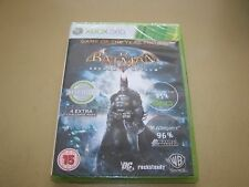 Batman Arkham Asylum  GOTY Classic XBOX 360 **New & Sealed**