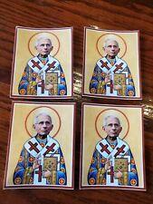 Dr. Fauci Saint Fauci Stickers Lot Of 4 Vaccine Salesman 💉