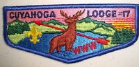 MERGED OA CUYAHOGA LODGE 17 GREATER CLEVELAND OHIO 56 440 619 PATCH SERVICE FLAP