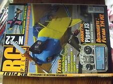 µ?. Revue RC PILOT Inter n°22 Piper J3 Sky Raider Stylus EP Fox S2G  Caliber 30