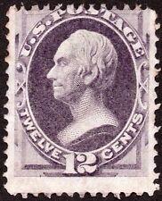 "US Sc# 151 *UNUSED H* { 12c HENRY CLAY } BANK NOTE OF 1870 ""SCARCE CV$ 1,000.00"
