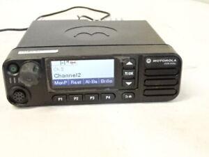 MOTOROLA MOTOTRBO DGM 5550e VHF Color Display,  GPS,  LAM28JQN9RA1AN