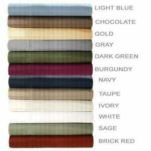 Embossed Dobby Stripe 90GSM Microfiber Sheet Set King/Queen- Multicolor