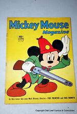 MICKEY MOUSE MAGAZINE Vol 4 #9 Disney Comic 1939 F-VF Nice comic for 60 YO!