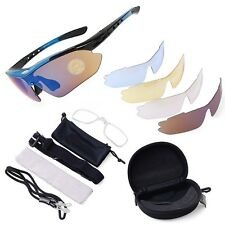 Police Shooting Range Glasses - Sunglasses - Multiple LENSES - HARD CASE - NEW