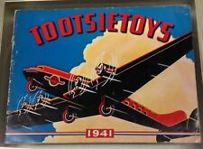 Tootsietoy 1941 Catalog Excellent condition Color and Black & White photos