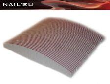 50x PROFI Feilen HALBMOND 100/100 zebra 30/180mm Trapez Nagelfeilen Trapezfeilen